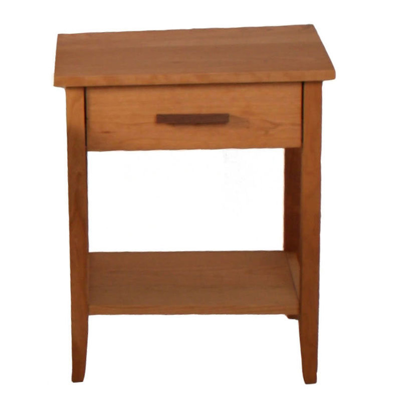 Amish nightstand perlora for How to make a nightstand higher