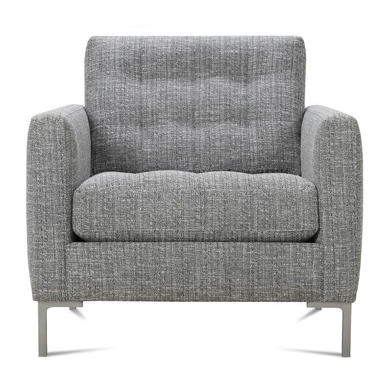 gray accent chair