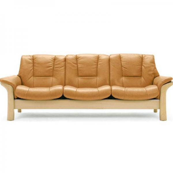Low Back 3-Seater Sofa