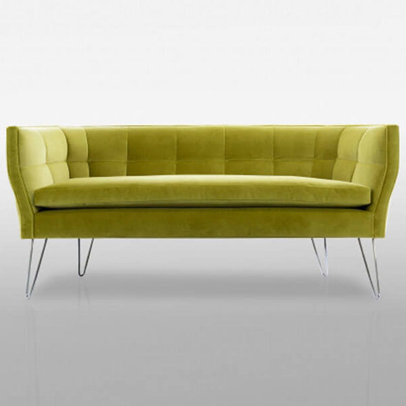 yellow sectional