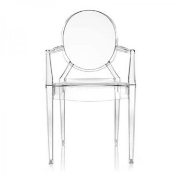 transparent dining chair