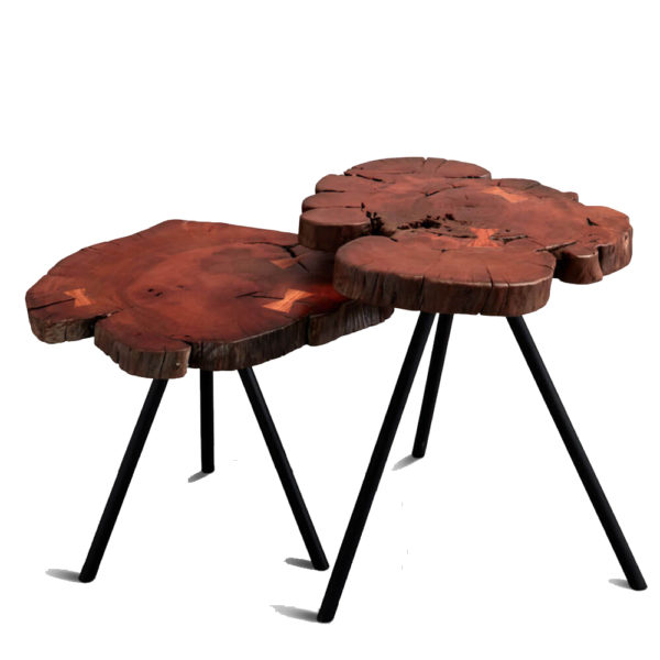 wooden cocktail tables