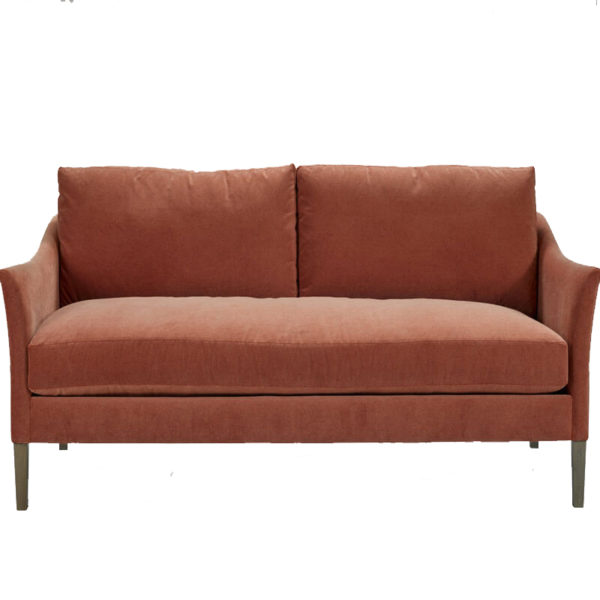 red sofa and sectionals