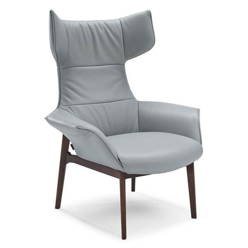 High-Back Wing Chair