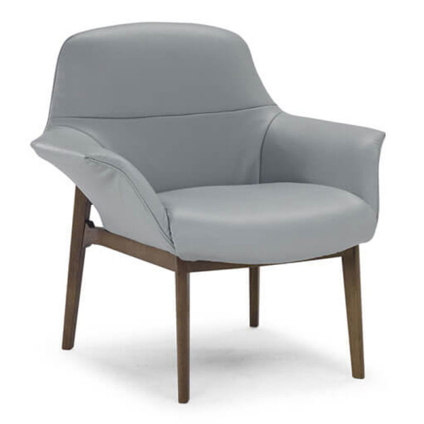 low arm accent chair