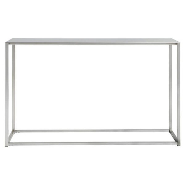 steel console tables