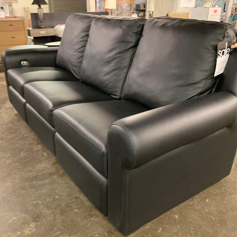 Black Custom Sofa