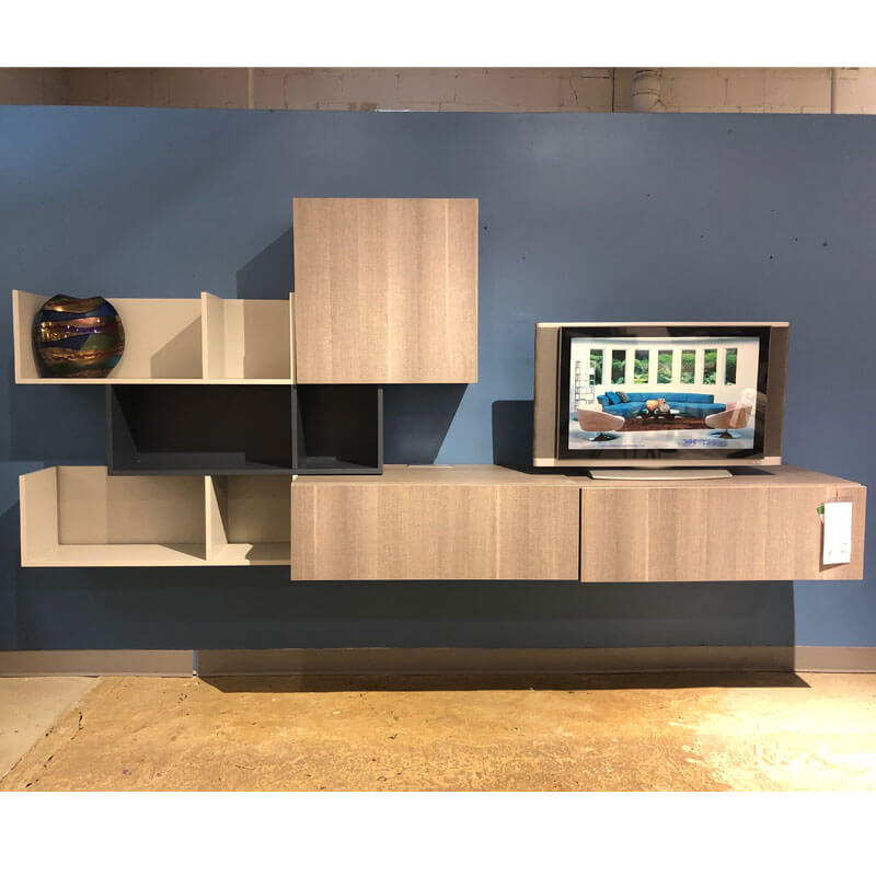 Wall-Mounted Entertainment Unit