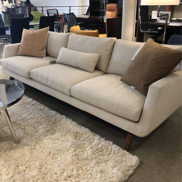American Leather Fabric Sofa
