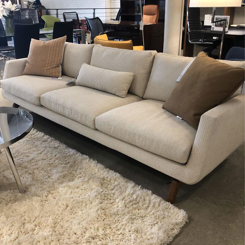American Leather Fabric Sofa