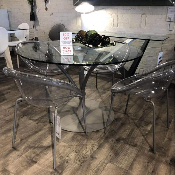 Calligaris 5 Piece Set Table