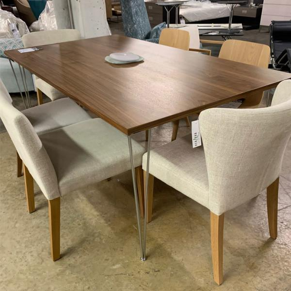 Italian Walnut Dining Table