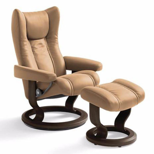 Wing-Chair-&-Ottoman