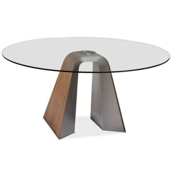 Round Glass DiningTable