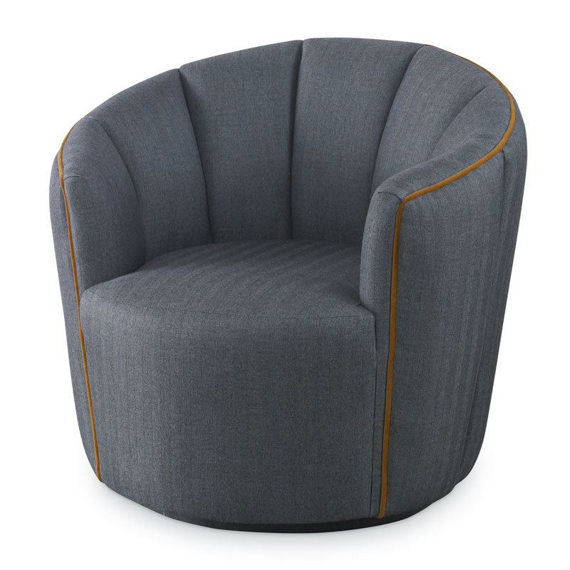 gray leather accent chairs