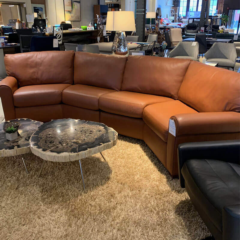 American Leather Savoy Sectional