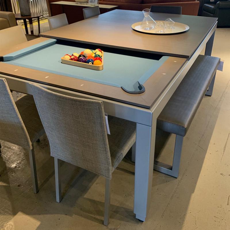 adjustable pool dining table