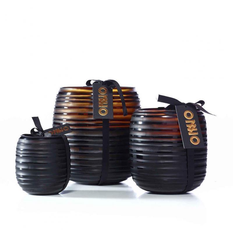 Custom Glass Vase Candles