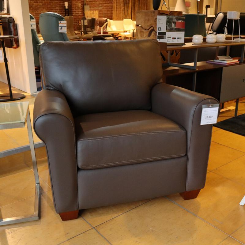 Classic American Leather Chair