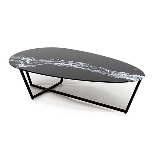 Drop cocktail table
