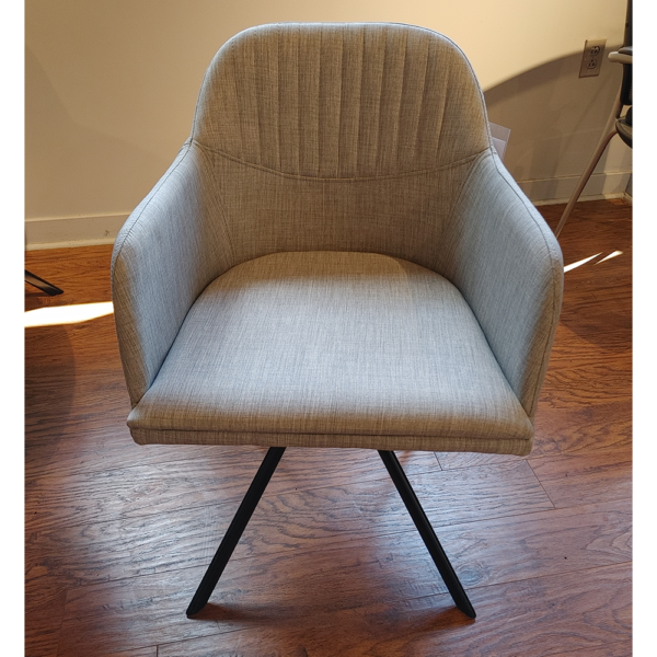 Quilted Swivel Dining chair